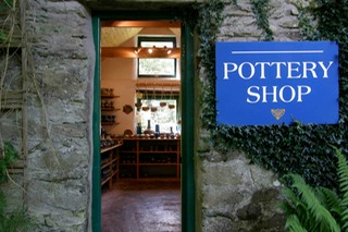 Coolavokig Pottery Shop. Irish Pottery made in Co. Cork Ireland